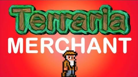 Terraria - How to get the Merchant