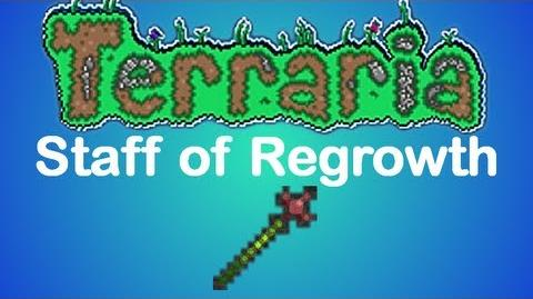 Terraria Staff of Regrowth