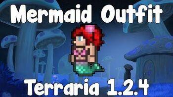 Mermaid Outfit - Terraria 1.2