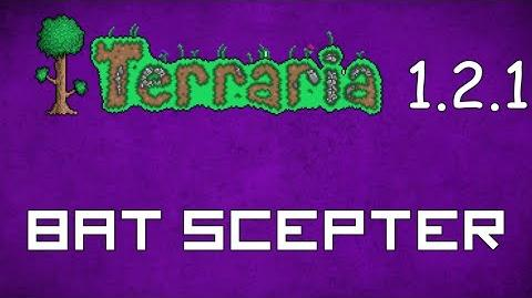 Bat Scepter - Terraria 1.2