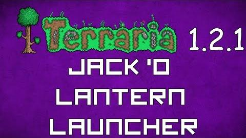 Jack 'O Lantern Launcher- Terraria 1.2