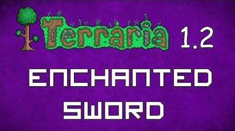 Enchanted Sword - Terraria 1