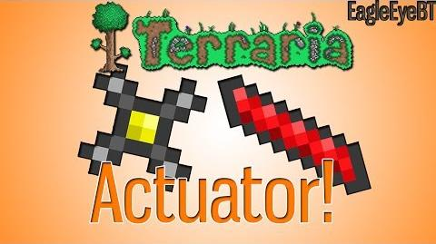 Terraria Actuator! Invincible House! Help and Howto!