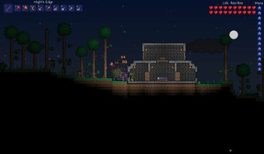 Terraria house defense bunker