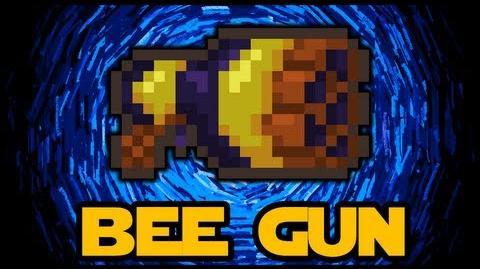 Video Bee Gun Amazing New Weapon Terraria 1 2 Terraria
