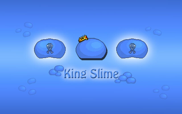 File:Tiamou Terraria Fan Art King Slime Wallpaper.jpg