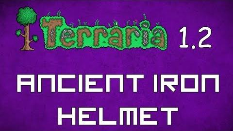 Terraria Molten Helmet Ancient Iron Helmet Terraria