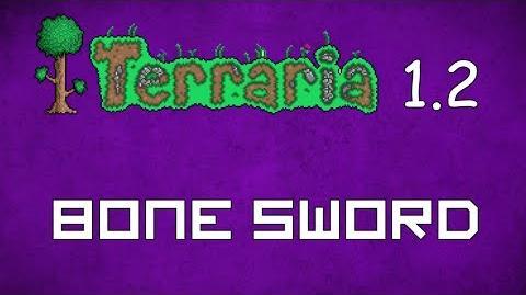 Bone Sword - Terraria 1