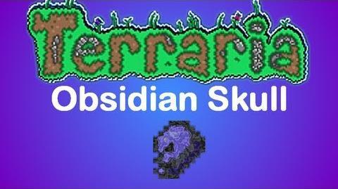 Terraria Obsidian Skull