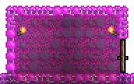Bubblegum Block Wall-placed