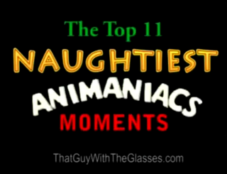 13 Nostalgia Critic - Top 11 Naughtiest Moments in Animaniacs