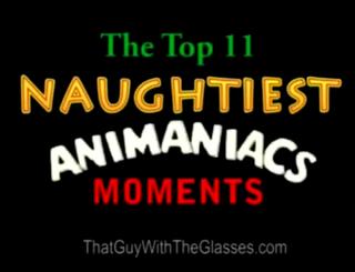 13 Nostalgia Critic - Top 11 Naughtiest Moments in Animaniacs