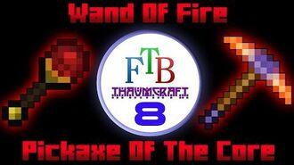 Wand Of Fire Pickaxe Of The Core Thaumcraft 3 FTB LITE Tutorial 8