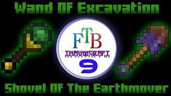 Wand Of Excavation Shovel Of The Earthmover Thaumcraft 3 FTB LITE Tutorial 9