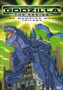 GODZILLA THE SERIES THE MONSTER WARS TRILOGY NEW DVD