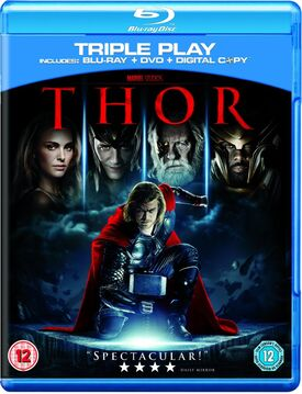 Thor blu-ray DVD digital copy