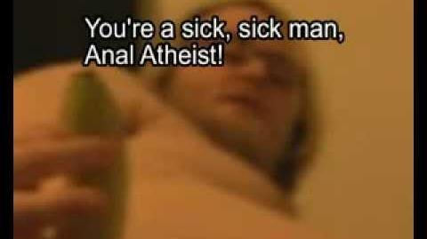 the amazing atheist banana