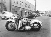 1935 Harley Davidson motorcycle