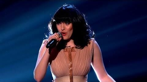 Christina Marie performs 'Everlong' - The Voice UK 2014 The Live Quarter Finals - BBC One