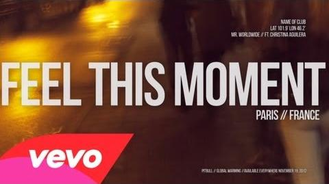 Feel This Moment (Lyric Video)