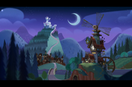 The 7D Home at Night