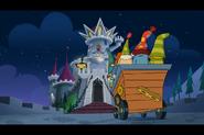 Dwarfs Arriving At Night