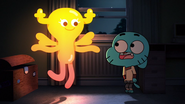 Penny Fitzgerald and Gumball Watterson on The Shell 21