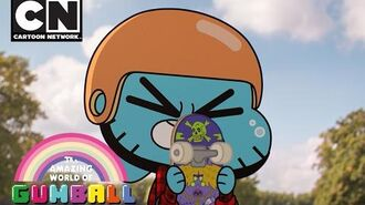 Gumball Ridin' Fakie Cartoon Network
