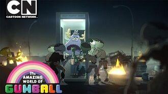 Gumball Zombies Cartoon Network