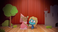 Penny Fitzgerald and Gumball Watterson at the schoolplay on The Shell 7