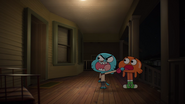 Gumball and Darwin Watterson on The Shell 2