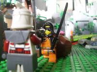 Day 2 – Harley's Bad Luck – Arrest -5 - Harley Attacks