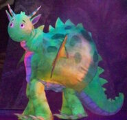 Dragon in The Backyardigans Live Tale of the Mighty Knights