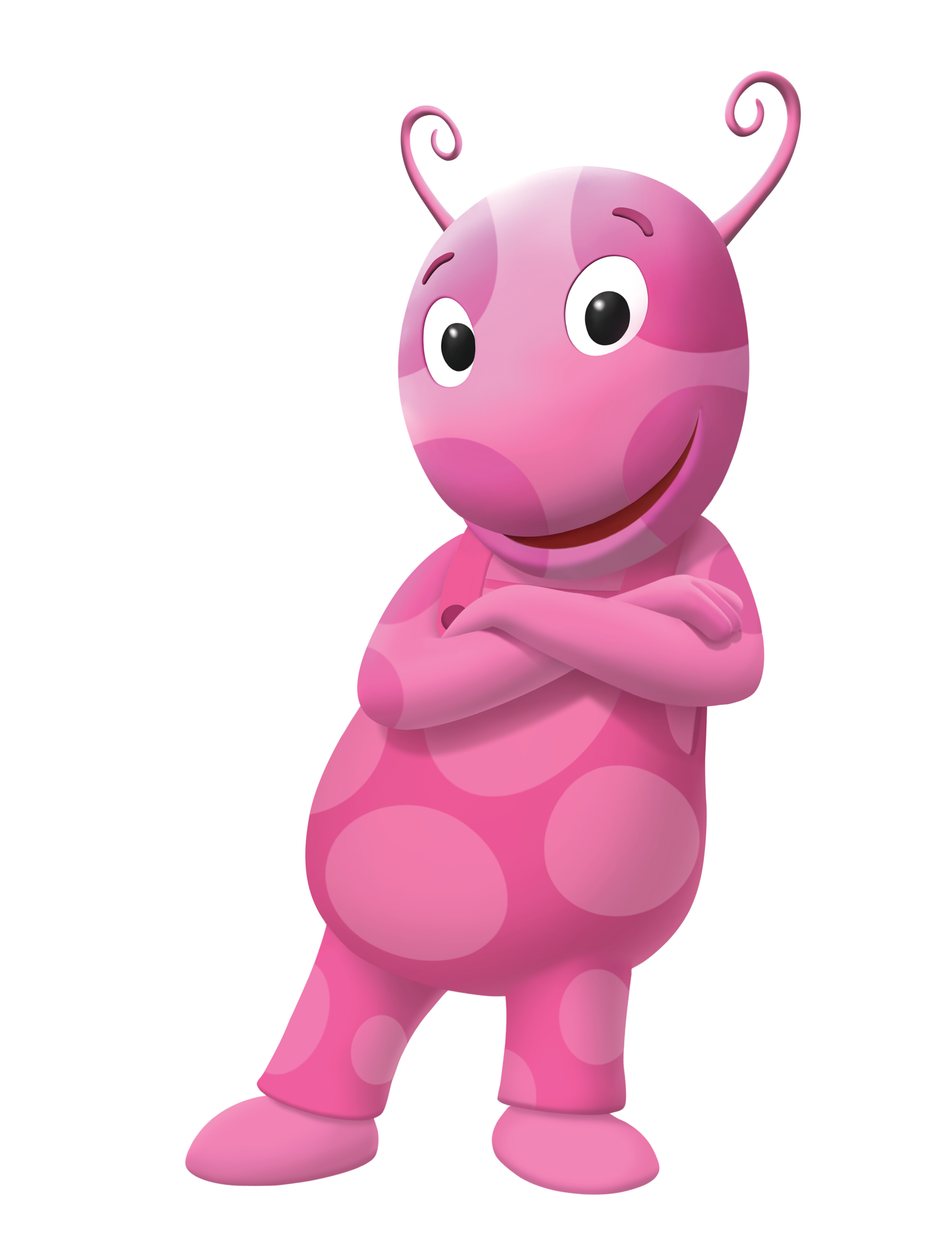 Uncategorized Pink Backyardigan image the backyardigans uniqua cross armed nickelodeon nick jr character png wiki fandom powered by