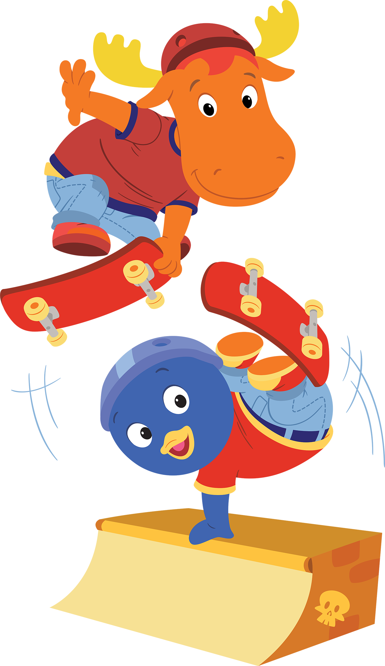 Image - The Backyardigans Sport-Tacular Pablo and Tyrone on Skate ...
