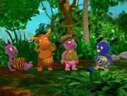 The Backyardigans The Heart of the Jungle Uniqua Pablo Tyrone Austin 9