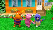 The Backyardigans Amazing Splashinis 1 Uniqua Pablo Tyrone Characters Cast