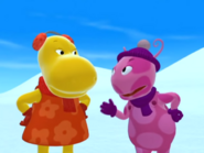The Backyardigans The Yeti 19 Uniqua Tasha