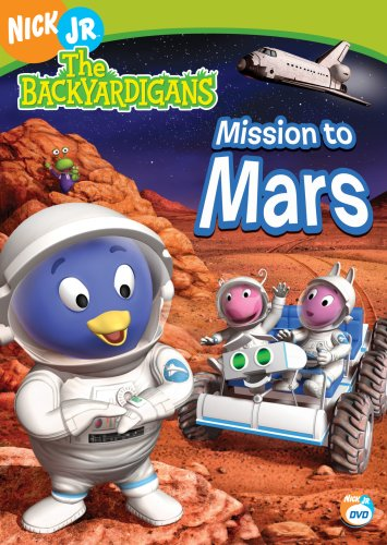 Mission To Mars Dvd The Backyardigans Wiki Fandom