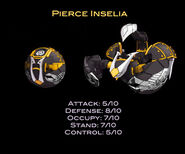 Pierce Inselia Stats
