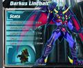 Darkus Linehalt stats
