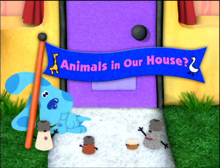 animals in our house?  blue's clues wiki  fandom powered by wikia, Bedroom decor