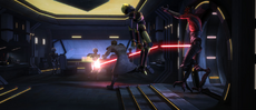 Maul and security droids-Revival