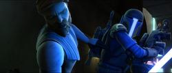 Obi-wan vs mando - DOM