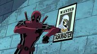 Deadpool with Taskmaster's Poster