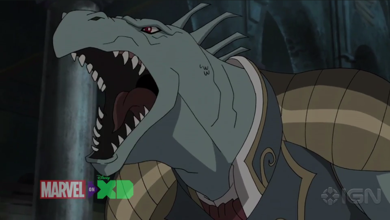 lizard king ultimate spiderman animated series wiki