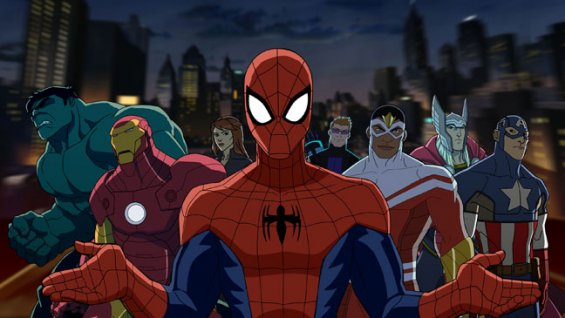 Ultimate spider man disney xd characters - photo#14