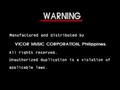 Vicor Warning Screen