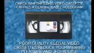 Piracy Warning (Guild Home Video)