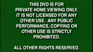 Walt Disney Warning Screen 1997-2000 DVD Version